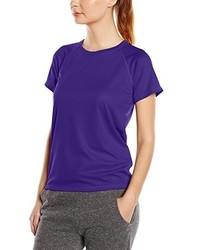 violettes T-shirt von Stedman Apparel