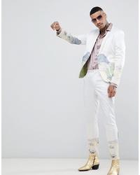 weiße Anzughose von ASOS DESIGN