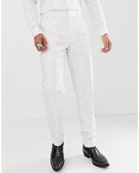 weiße Anzughose von ASOS Edition