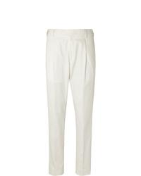 weiße Anzughose von Caruso