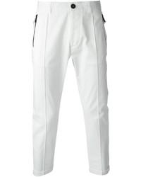 weiße Anzughose von DSQUARED2