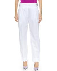 weiße Anzughose von Nina Ricci