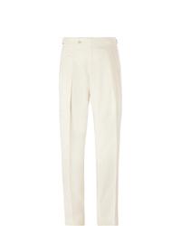 weiße Anzughose von Richard James