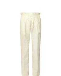 weiße Anzughose von Zanella