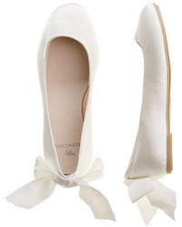 weiße Ballerinas