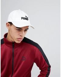 weiße Baseballkappe von Puma