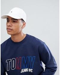 weiße Baseballkappe von Tommy Hilfiger