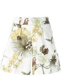 weiße bedruckte Shorts von Etro