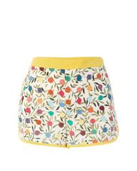 weiße bedruckte Shorts von RED Valentino