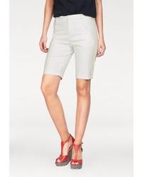 weiße Bermuda-Shorts von Vero Moda