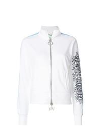 Modische weiße bestickte Jacke für Damen für Winter 2019 kaufen ... ef4ddda62f
