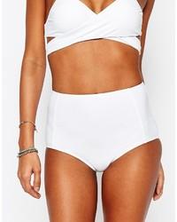 weiße Bikinihose von South Beach