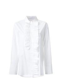 weiße Bluse mit Knöpfen von Marni