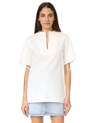 weiße Bluse von Acne Studios