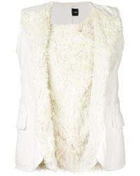 weiße Bluse von Comme des Garcons