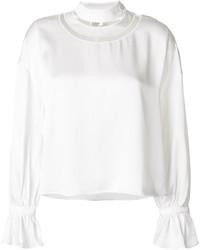 weiße Bluse von Fendi