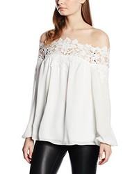 weiße Bluse von Lipsy