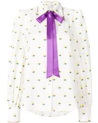 weiße Bluse von Marc Jacobs