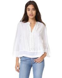 weiße Bluse von Rebecca Minkoff