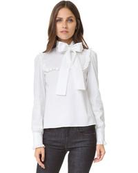 weiße Bluse von RED Valentino