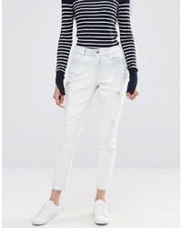 weiße Boyfriend Jeans von Only