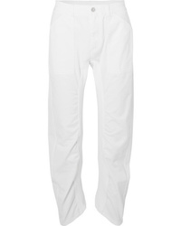 weiße Boyfriend Jeans von Stella McCartney
