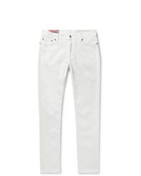 weiße enge Jeans von Acne Studios