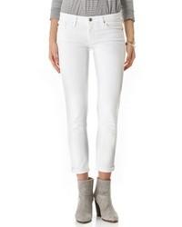 weiße enge Jeans von AG Jeans