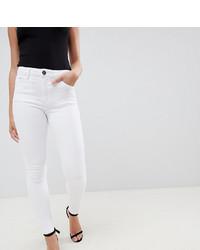 weiße enge Jeans von Asos Petite
