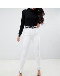 weiße enge Jeans von Asos Tall