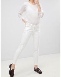 weiße enge Jeans von Blend She
