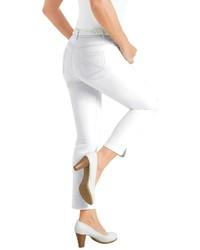 weiße enge Jeans von COLLECTION L.