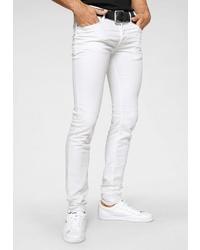 weiße enge Jeans von Diesel