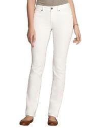 weiße enge Jeans von Eddie Bauer