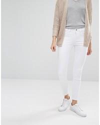 weiße enge Jeans von Only