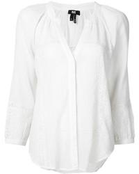 weiße Folklore Bluse von Paige