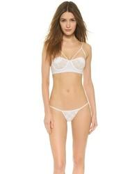 weiße Häkel Bikinihose von For Love & Lemons