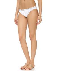 weiße Häkel Bikinihose von Pilyq