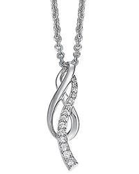 weiße Halskette von Pierre Cardin