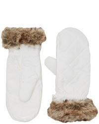 weiße Handschuhe von Black Crevice