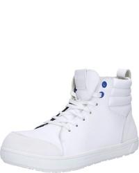 weiße hohe Sneakers aus Leder von Birkenstock