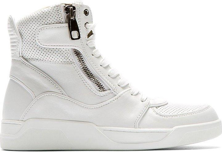 Hohe Sneakers Aus Gabbana Von Leder Weiße Dolceamp; VUMzSp