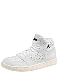 weiße hohe Sneakers aus Leder von Jordan
