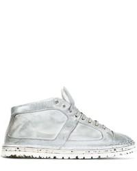 weiße hohe Sneakers aus Leder von Marsèll