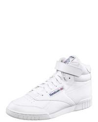 weiße hohe Sneakers aus Leder von Reebok Classic