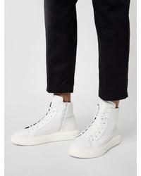 weiße hohe Sneakers von Bianco