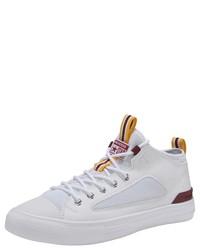 weiße hohe Sneakers von Converse