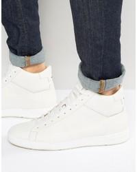 weiße hohe Sneakers von Hugo Boss