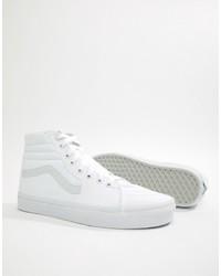 weiße hohe Sneakers von Vans
