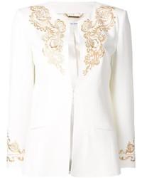 weiße Jacke von Alberta Ferretti